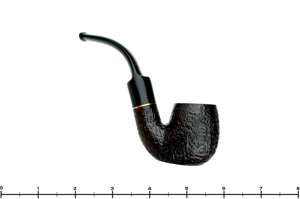 Blue Room Briars is Proud to Present this Savinelli Roma 614 Fully Bent Rusticated Billiard (6mm) Estate Pipe