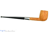 Blue Room Briars is proud to present this Jesse Jones Pipe Tan Blast Bing Billiard with Wide Silver Band