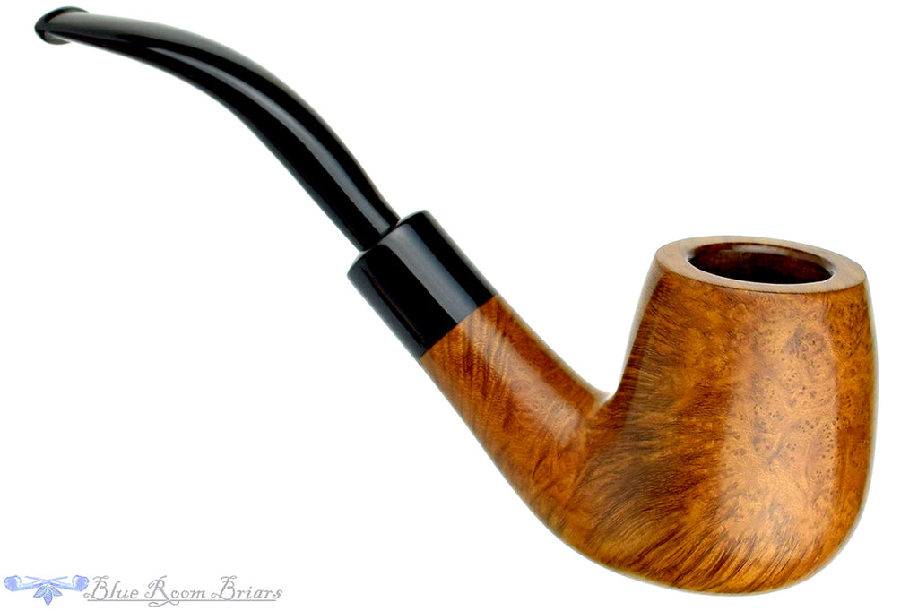 Blue Room Briars is proud to present this The Tinder Box Verona 805 1/2 Bent Billiard with Military Mount Estate Pipe