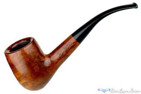 Poul Winslow 1/4 Bent Octagonal Shank Apple with Acrylic Estate Pipe