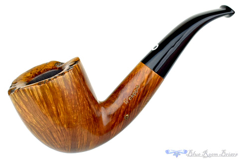 Meerschaum Panel Billiard with Bakelite Stem UNSMOKED Estate Pipe