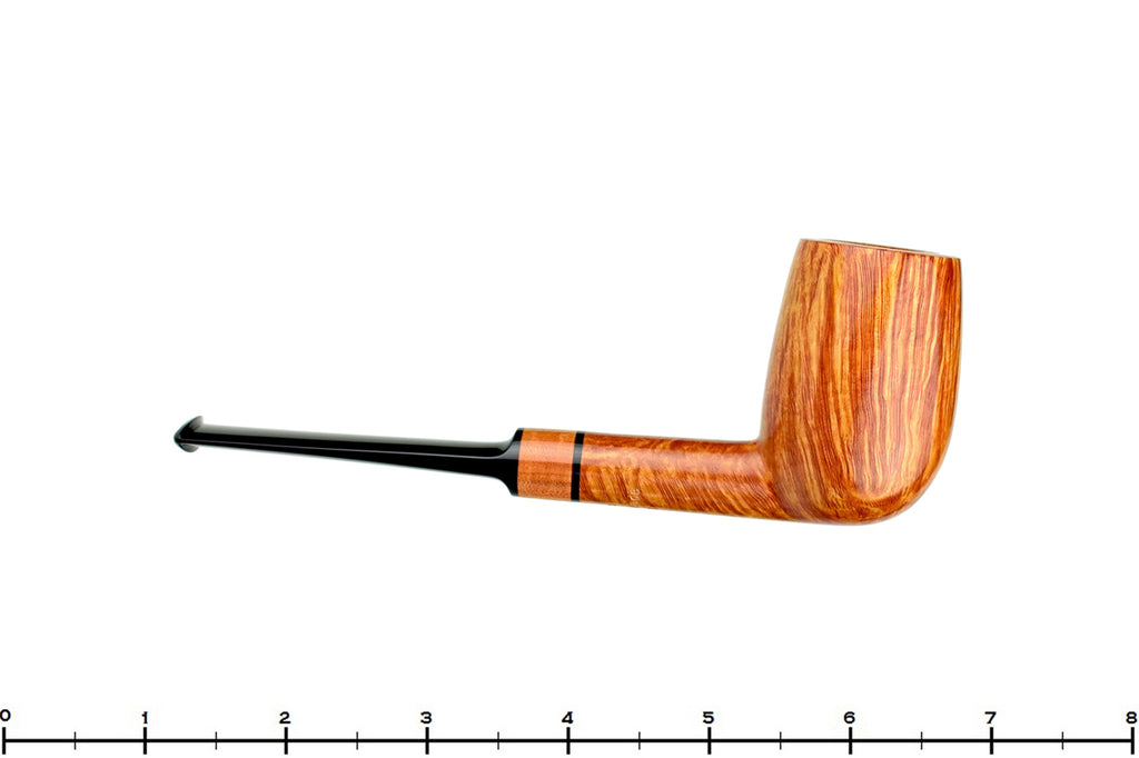 Blue Room Briars is proud to present this Jesse Jones Pipe 2419 Saddled Tall Billiard with Pink Ivory