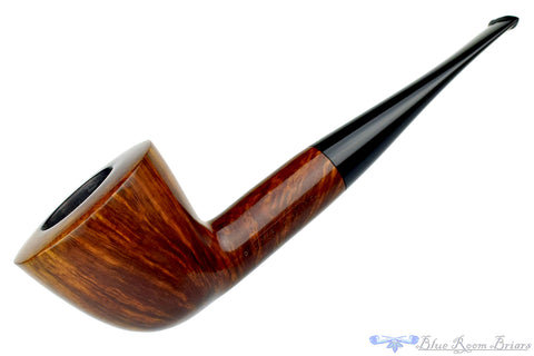 Savinelli Impero 636 KS (6mm Filter) 1/4 Bent Apple with Acrylic Band Estate Pipe