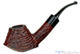 Blue Room Briars is proud to present this Clark Layton Pipe 1/2 Bent Ring Blast Volcano