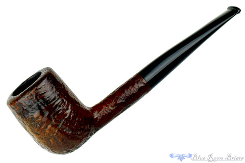 Yorkshire Standard Partial Carved Poker Sitter Estate Pipe