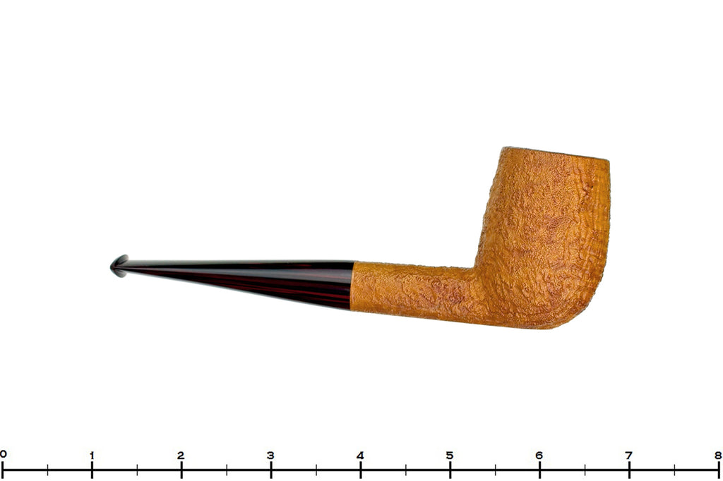Blue Room Briars is proud to present this Jesse Jones Pipe 3319 Tan Blast Billiard with Brindle