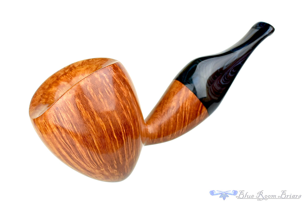 David Wagner Wasp with Midnight Brindle Estate Pipe