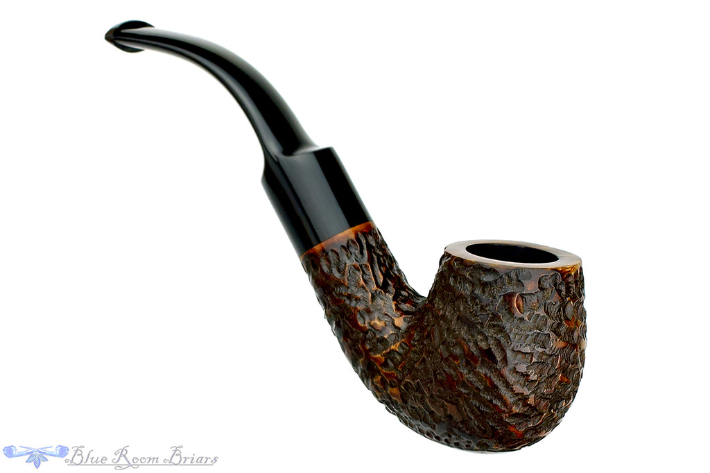 Blue Room Briars is Proud to Present This Blakemar Briars Aristocrat 3/4 Bent Rusticated Billiard Estate Pipe