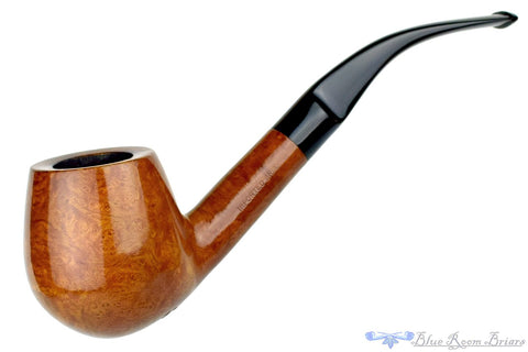 De-Mar 1/4 Bent Rusticated Rhodesian Estate Pipe