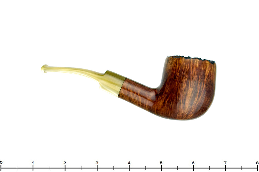 Blue Room Briars is proud to present this J.M. Boswell (2018 Make) 1/4 Bent Pot with Plateau Estate Pipe