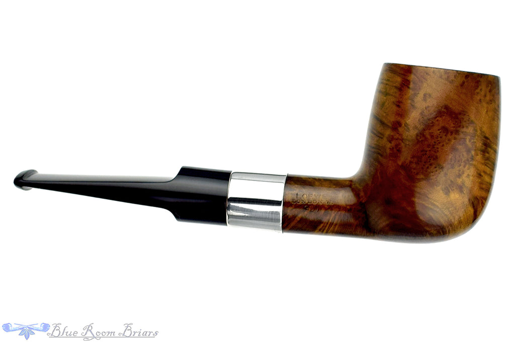 Loewe 907 (1981 Make) Billiard with L&Co Mounted Silver Estate Pipe