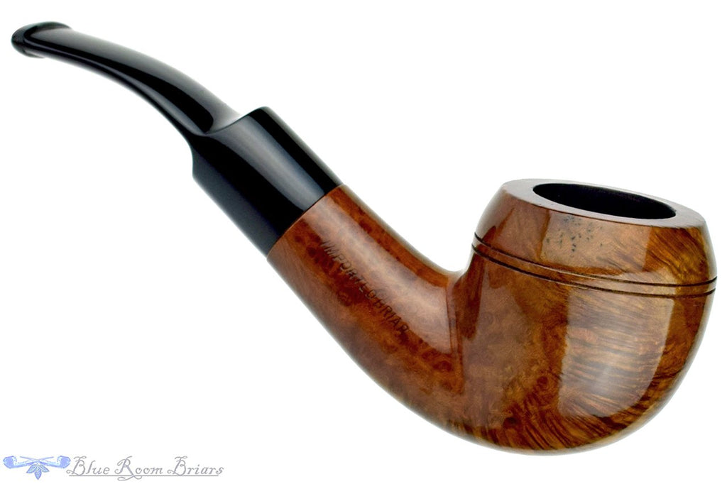 Blue Room Briars is proud to present this Imported Briar 1/2 Bent Rhodesian Estate Pipe