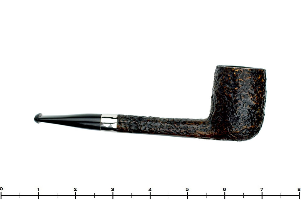 Blue Room Briars is proud to present this Charatan 402 Sandblast Canadian with Nickel Band Estate Pipe