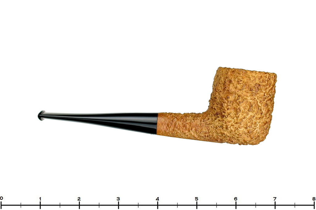 Blue Room Briars is proud to present this Castello Sea Rock Briar KKK Natural Rusticated Billiard Estate Pipe