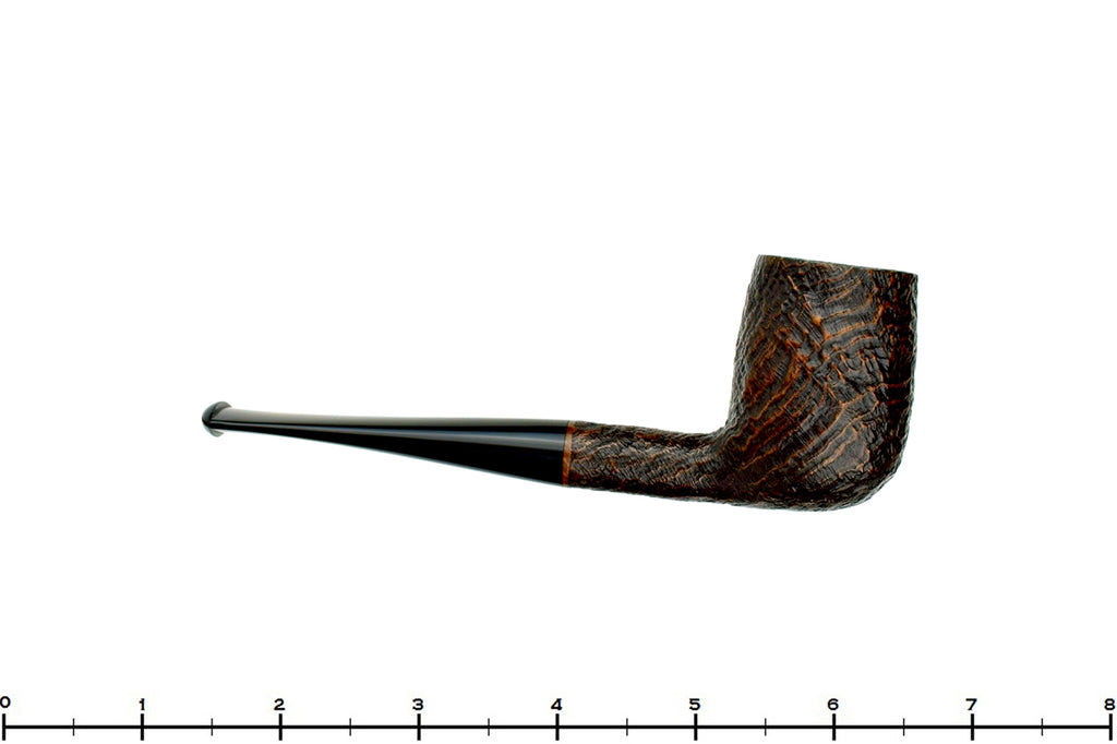 Blue Room Briars is proud to present this Old Briar Sandblast Billiard UNSMOKED Estate Pipe