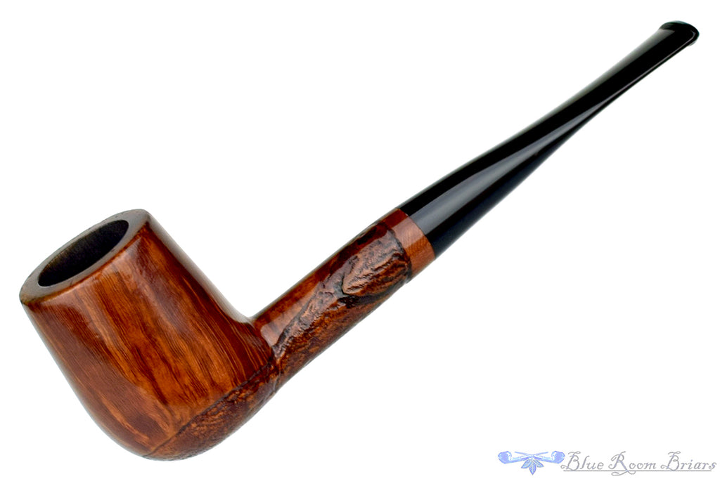 Blue Room Briars is proud to present this Partially Rusticated Danish Billiard Estate Pipe
