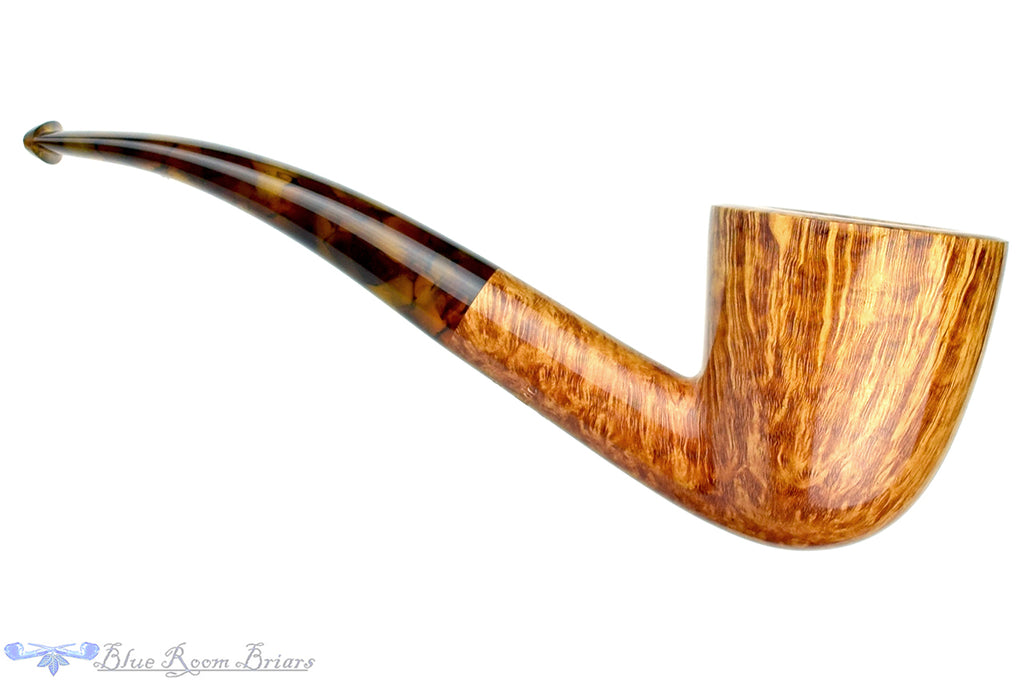 Jesse Jones Pipe 3619 1/4 Bent Dublin with Tortoise Shell
