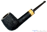 Blue Room Briars is proud to present this Jerry Crawford Pipe Black Blast Billiard with Masur Birch and Brindle