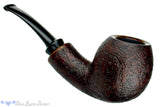 Blue Room Briars is proud to present this Jerry Crawford Pipe 1/4 Bent Mahogany Blast Egg with Smooth Shank Cap
