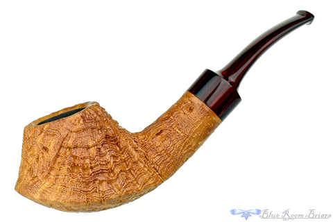 Todd Harris Pipe 1/2 Bent Rusticated Apple