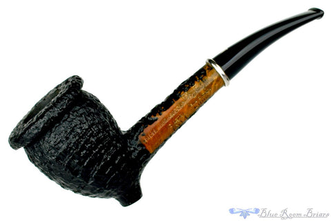 Charatan Belvedere 3 Long Shank Billiard with Replacement Stem Estate Pipe