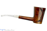 Blue Room Briars is proud to present this GBD Collector Sauvage 9557 Partial Carved Oval Shank Poker with Perspex Stem Estate Pipe