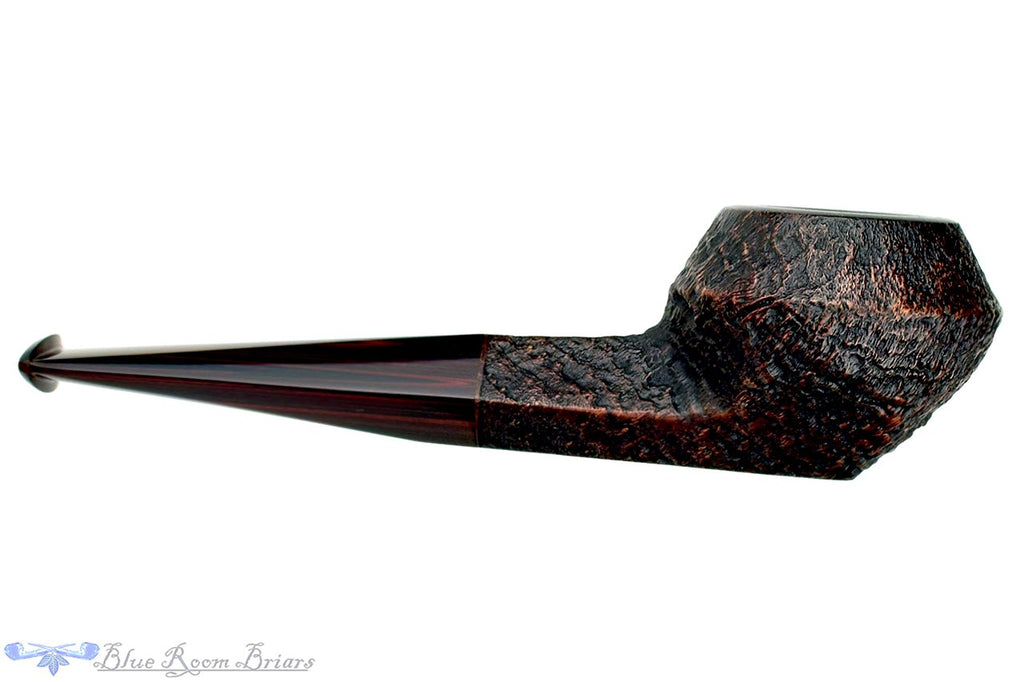 Blue Room Briars is proud to present this Jesse Jones Pipe 2219 Antique Blast Bulldog with Brindle