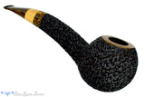 Blue Room Briars is proud to present this Dr. Bob Pipe Carved Large Hawkbill with Box Elder Insert and Brindle
