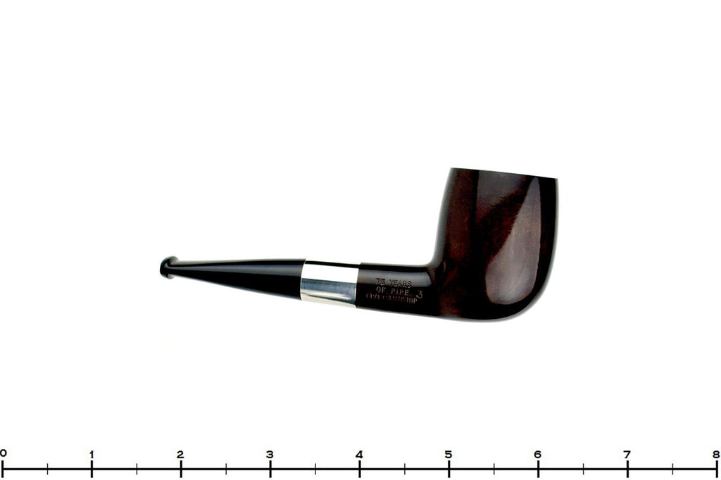 Blue Room Briars is proud to present this Dunhill 75th Anniversary Duke Street 3 (1985 Make) Billiard with Silver Band UNSMOKED Estate Pipe