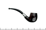 Blue Room Briars is proud to present this Dunhill 75th Anniversary Duke Street 1 (1985 Make) Bent with Silver and Military Mount UNSMOKED Estate Pipe