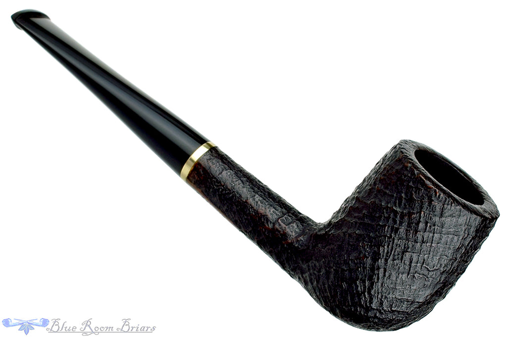 Blue Room Briars is Proud to Present this Stanwell DM (1993) Ringblast Billiard with Brass Insert Estate Pipe