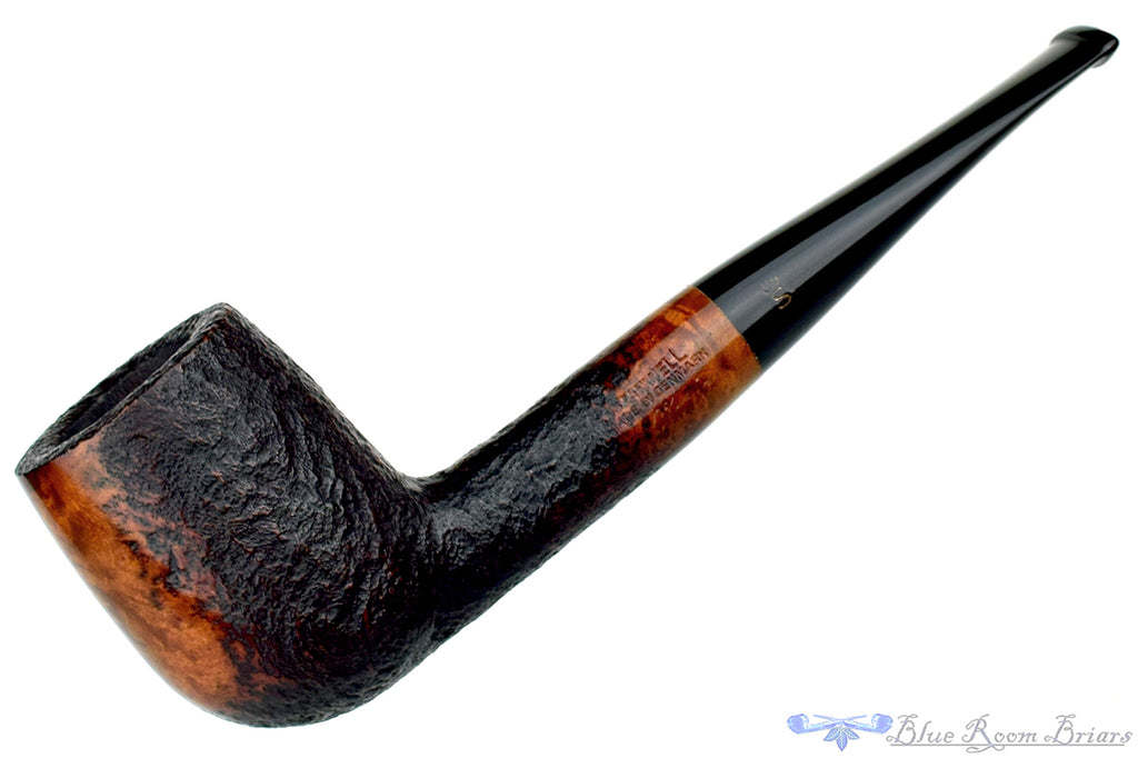 Blue Room Briars is proud to present this Stanwell Vario 12 Partial Sandblast Billiard Estate Pipe