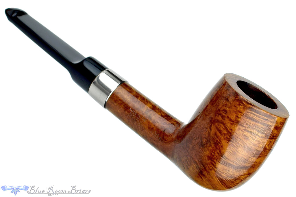 Blue Room Briars is Proud to Present this Peterson 106S Billiard with Nickel Band and 9mm Filter Estate Pipe