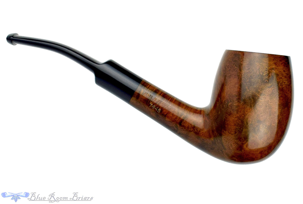 Blue Room Briars is Proud to Present this Bari Select Nature Old Briar 7948 1/2 Bent Egg UNSMOKED Estate Pipe
