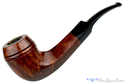 Chianti Fino Billiard with Brass Insert Estate Pipe