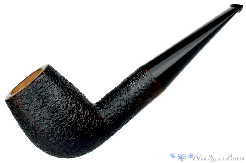 Blue Room Briars is Proud to Present this Marek Kando Rusticated Danish Billiard UNSMOKED Estate Pipe