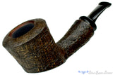 Blue Room Briars is Proud to Present this Dirk Heinemann Pipe 1/8 Bent Ringblast Cherrywood Sitter