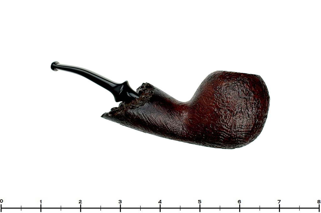Blue Room Briars is Proud to Present this RC Sands Pipe 1/4 Bent Sandblast Apple with Plateau