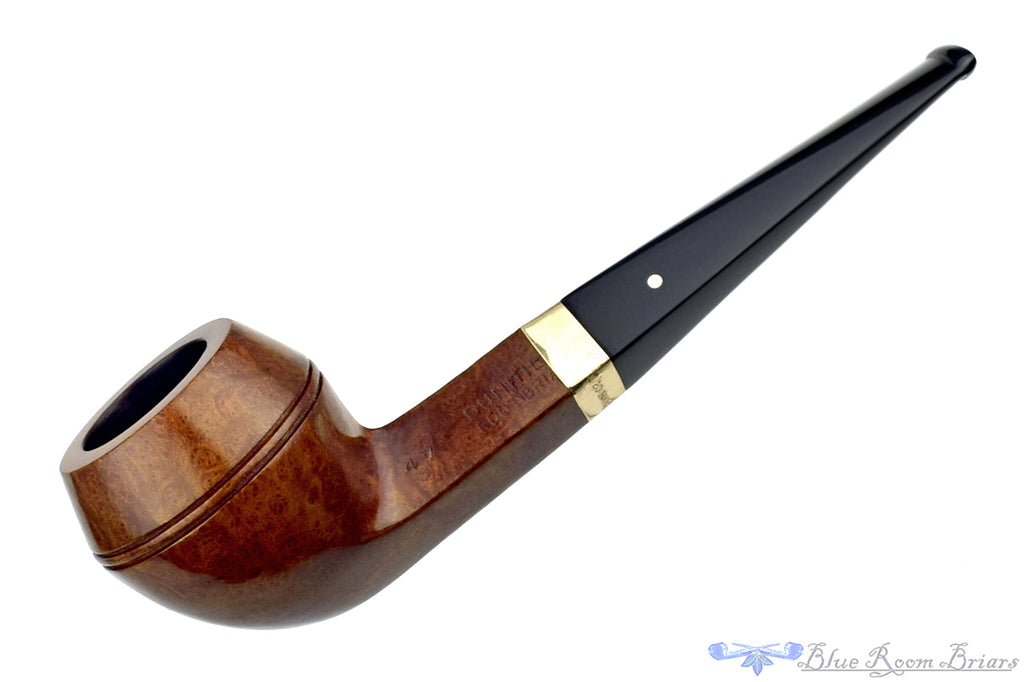 Blue Room Briars is proud to present this Dunhill Root Briar 47 (1963-1964 Make) (Group 3) Bulldog with 14K Gold Repair Band Estate Pipe