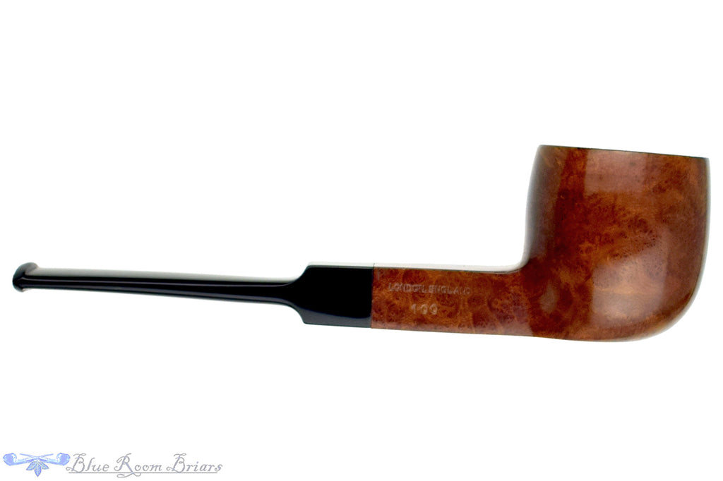 GBD Century 100 (Post-Cadogan) Square Shank Pot Sitter Estate Pipe