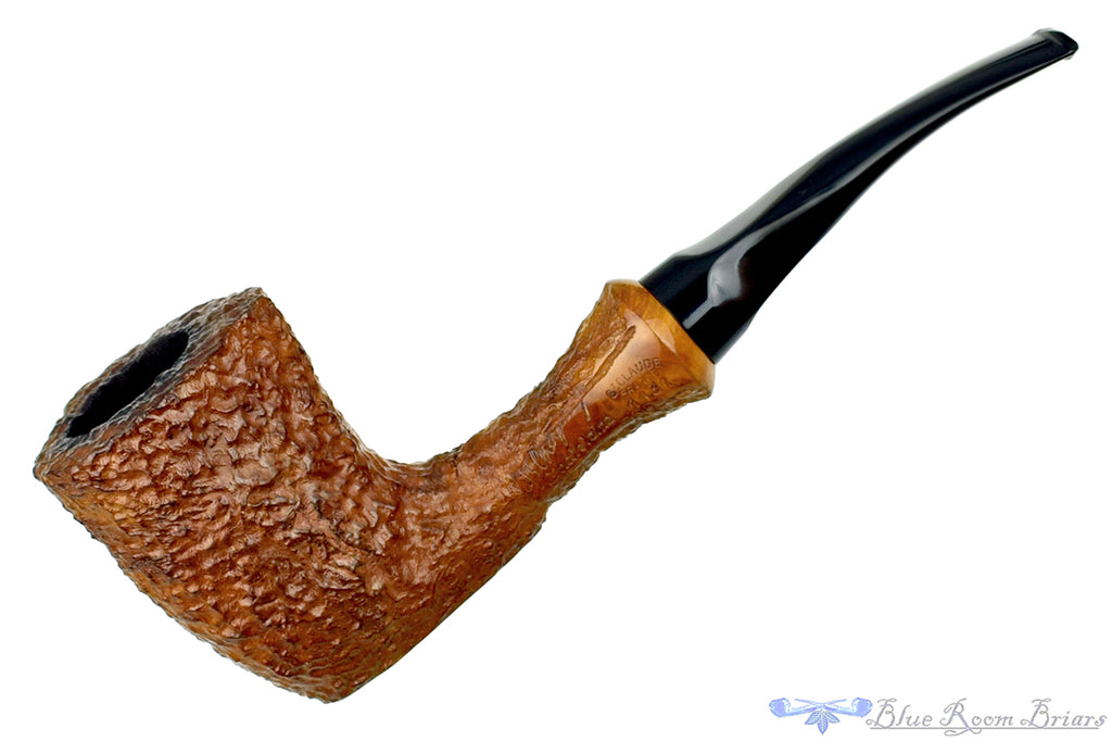 Blue Room Briars is proud to present this Butz-Choquin Chatelaine 1131 1/8 Bent Rusticated Large Freehand Sitter Estate Pipe