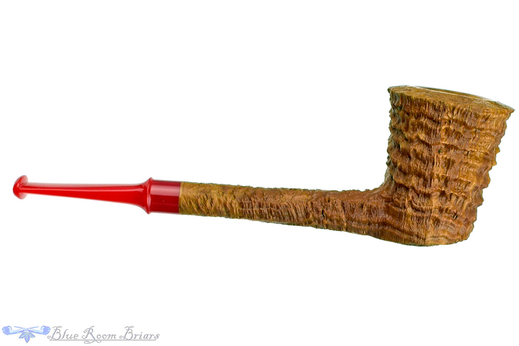 Blue Room Briars is proud to present this Nate King Pipe 559 Natural Ring Blast Dublin with Bakelite Stem