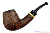 Blue Room Briars is proud to present this Bill Shalosky 474 1/4 Bent Sandblast Brandy with Boxwood