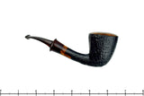 Blue Room Briars is proud to present this Erik Nielsen Grade E Bent Sandblast Dublin with Brindle Estate Pipe