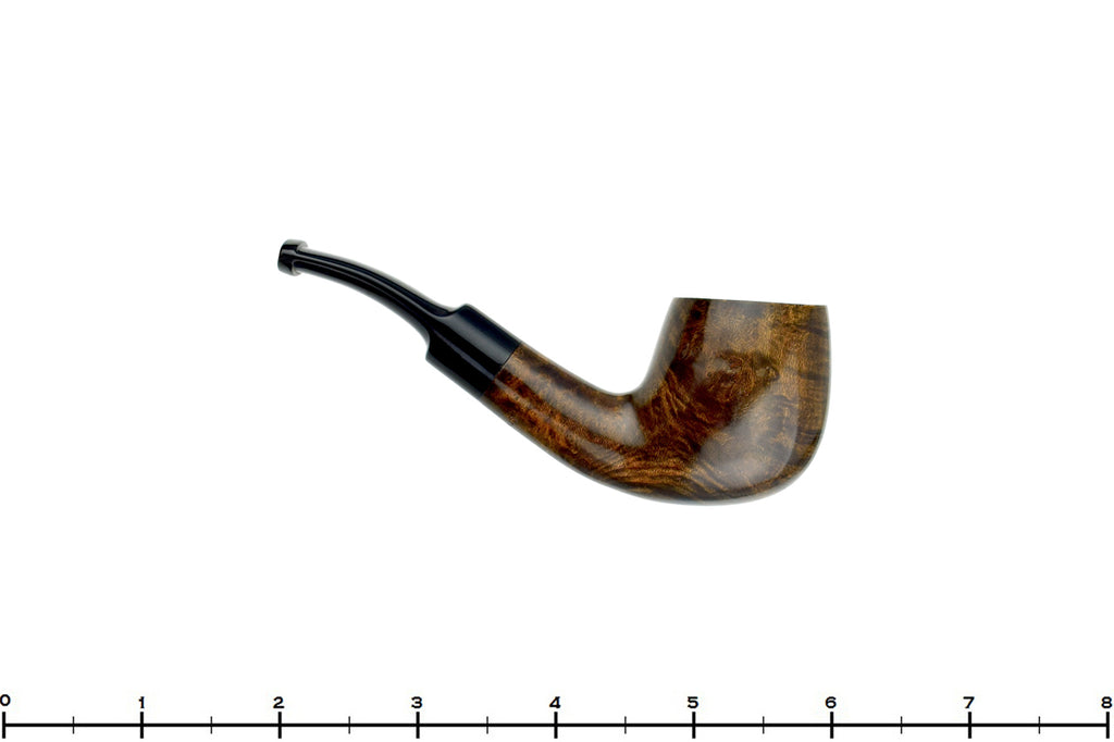 Blue Room Briars is proud to present this Baraccini 1/4 Bent Billiard Estate Pipe