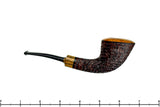 Blue Room Briars is proud to present this Brian Madsen Pipe 1/8 Bent Rusticated Dublin with Bocote