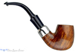 Blue Room Briars is proud to present this Peterson's System Standard 314 1/2 Bent Billiard with Nickel and P-Lip UNSMOKED Estate Pipe
