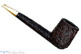Blue Room Briars is proud to present this Ascorti Business KS Rusticated Canadian UNSMOKED Estate Pipe