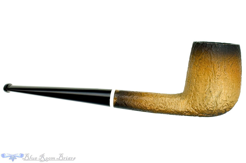 Blue Room Briars is proud to present this Nørding Nord-Coat 125 Sandblast Oval Shank Billiard UNSMOKED Estate Pipe