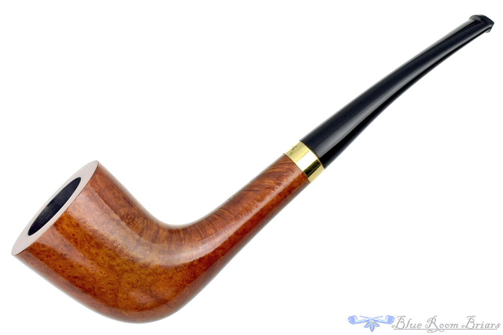 Blue Room Briars is proud to present this Carlyle Twin Stem (Savinelli) 4011 Zulu with Gold Estate Pipe with Extra Stem